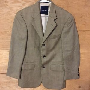 Nautica men's sz 40r modern fit sport coat blazer